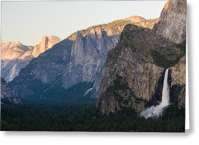 Tony Murray Greeting Cards - Falls and Domes Greeting Card by Tony Murray