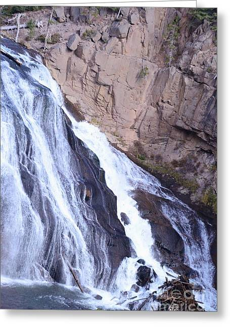 Struckle Greeting Cards - Falls Hidden Greeting Card by Kathleen Struckle