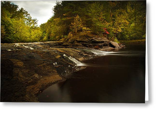 Virginia Landscape Greeting Cards - Falls Mill Greeting Card by Shane Holsclaw