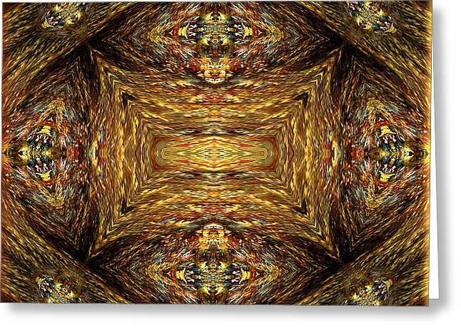 Award Digital Art Greeting Cards - Fame - abstract art by Giada Rossi Greeting Card by Giada Rossi