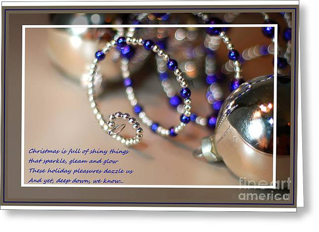 Susan M. Smith Greeting Cards - Family and Friends Christmas  Spiral Greeting Card by Susan Smith