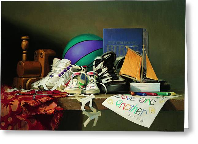 Religious Still Life Greeting Cards - Family Ties Greeting Card by Graham Braddock