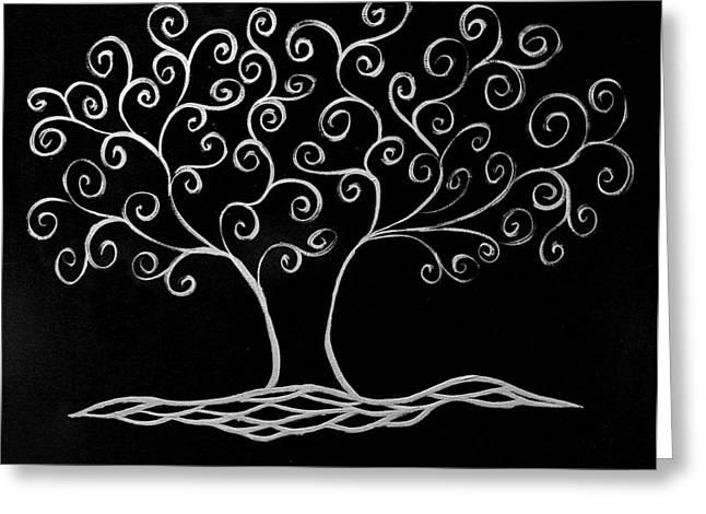 Family Tree Greeting Cards - Family Tree Greeting Card by Jamie Lynn