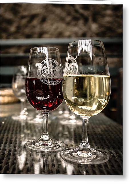 Glass Buoys Greeting Cards - Famous wine of Sancerre Greeting Card by Oleg Koryagin