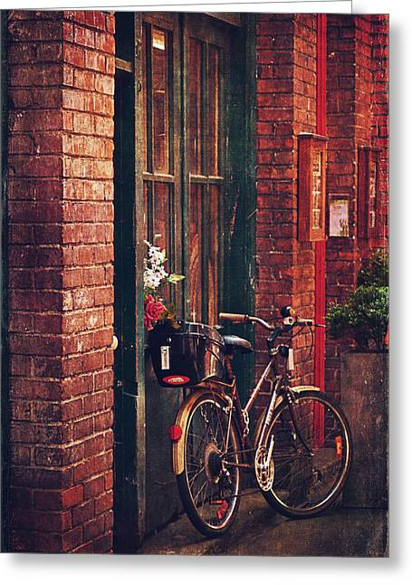 Old Town Digital Greeting Cards - Fan Tan Alley Greeting Card by Maria Angelica Maira