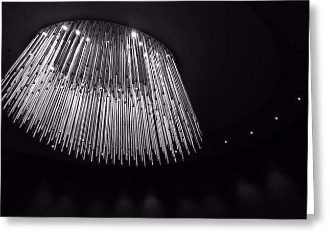 Nashville Tennessee Greeting Cards - Fancy Chandelier Greeting Card by Dan Sproul