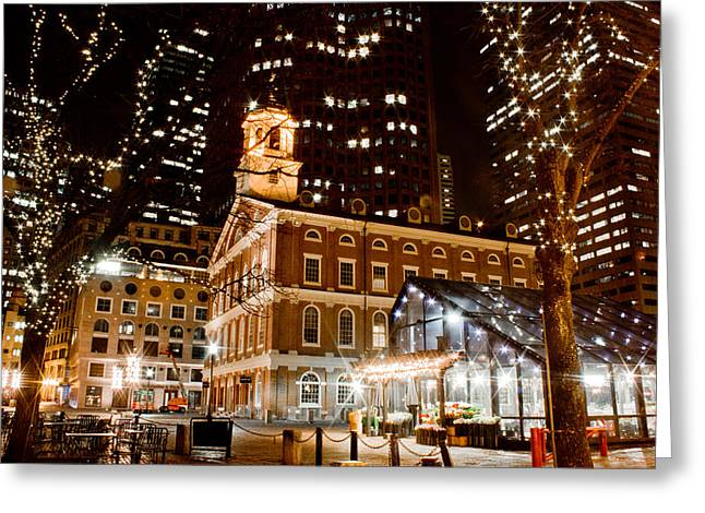 John Mcgraw Photography Greeting Cards - Faneuil Hall Boston MA  Greeting Card by John McGraw