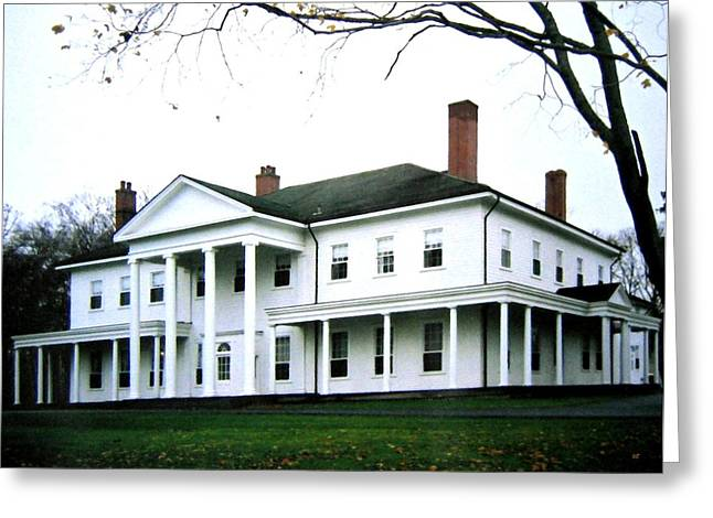Governor Island Greeting Cards - Fanningbank Greeting Card by Will Borden