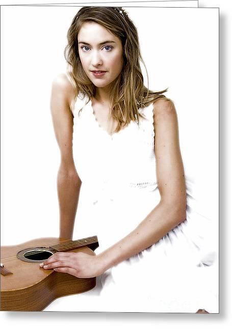 Marthe Moldskred Greeting Cards - Fantasia...  Greeting Card by Nina Stavlund