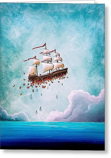 Fantastic Voyage Greeting Card by Cindy Thornton