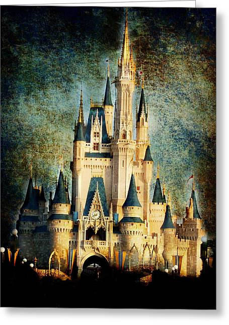 Cinderella Photographs Greeting Cards - Fantasy Dreaming Greeting Card by Denise Harrison
