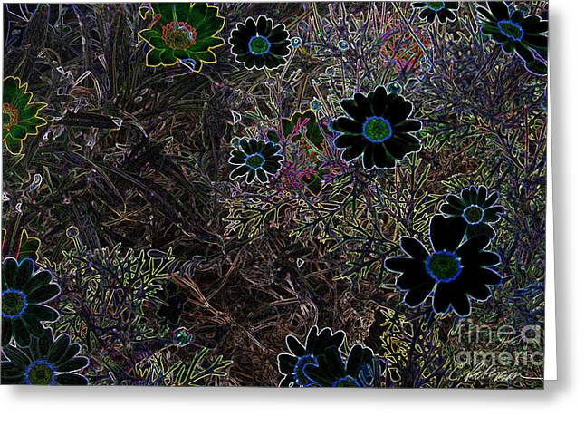 Fantasy Garden No. 1 Greeting Card by Cathy Peterson