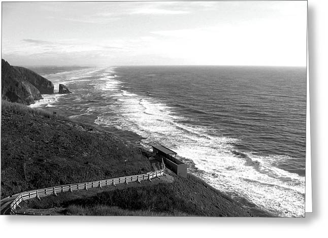 Ocean Vistas Greeting Cards - Far As The Eye Can See Greeting Card by Will Borden