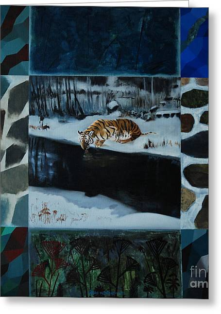 Jukka Nopsanen Greeting Cards - Far from Home Greeting Card by Jukka Nopsanen