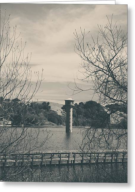 Lafayette Reservoir Greeting Cards - Far From Me Greeting Card by Laurie Search