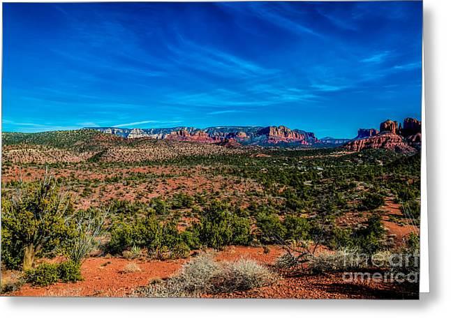 Far View Greeting Card by Jon Burch Photography