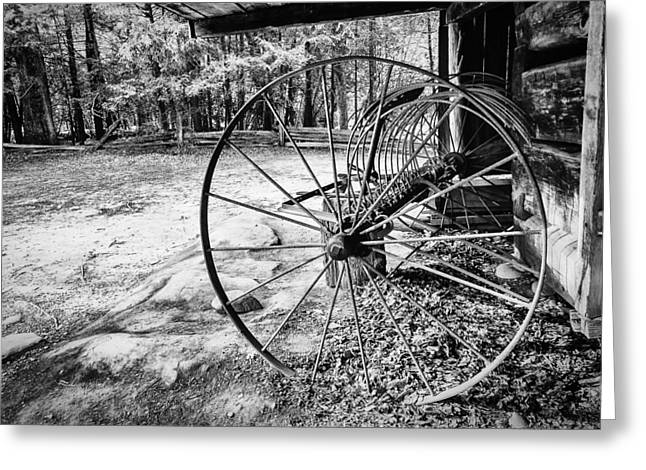Tennessee Farm Greeting Cards - Farm Equipment Greeting Card by Jay Stockhaus