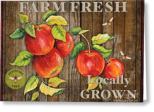 Lettuce Digital Greeting Cards - Farm Fresh-JP2130 Greeting Card by Jean Plout
