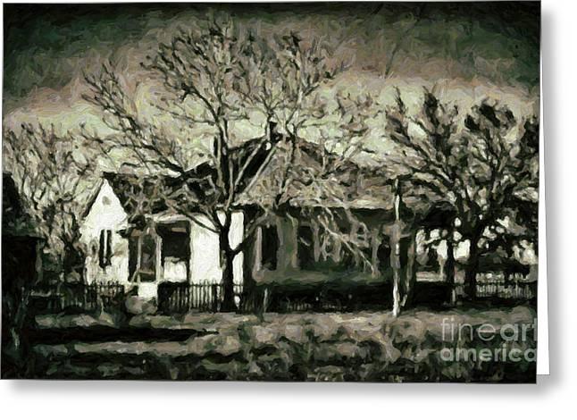 Abandoned Farm House Greeting Cards - Abandoned Farm House Greeting Card by Walt Foegelle