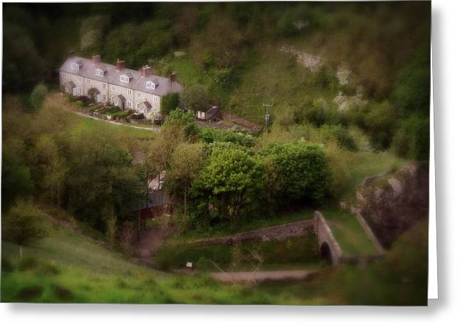 Farm House In The Peak District In Great Britain Greeting Card by Doc Braham