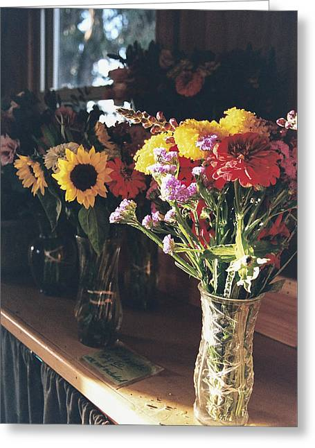 Farm Stand Greeting Cards - Farm Stand Greeting Card by Caitlyn  Grasso