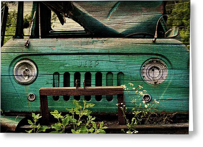 Old Trucks Greeting Cards - Farmhouse FC Greeting Card by Luke Moore