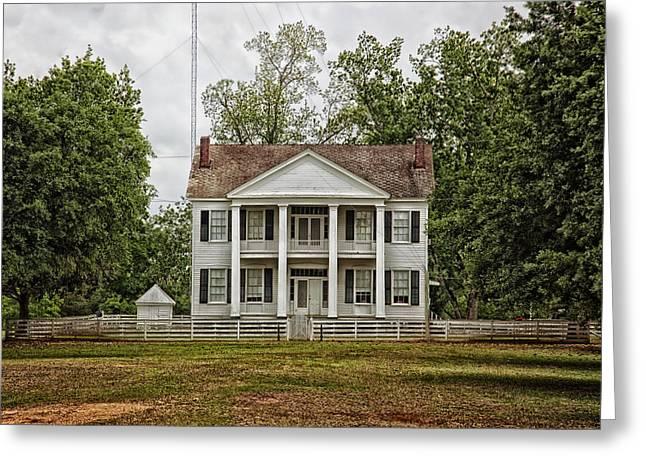 Alabama Greeting Cards - Farmhouse in Alabama Greeting Card by Mountain Dreams