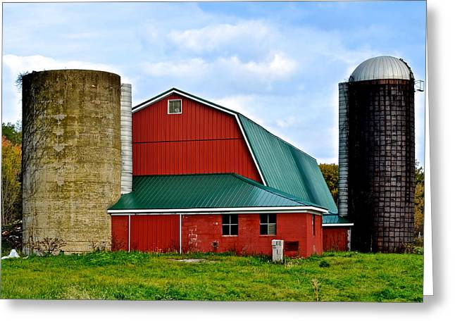 Farming Greeting Card by Frozen in Time Fine Art Photography
