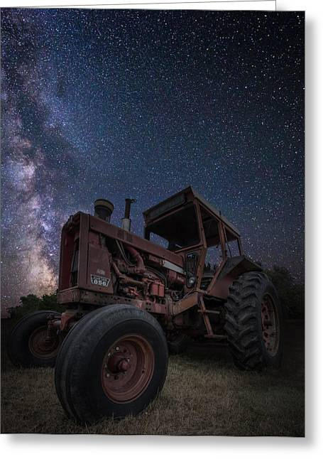 Rift Greeting Cards - Farming the Rift 5 Greeting Card by Aaron J Groen