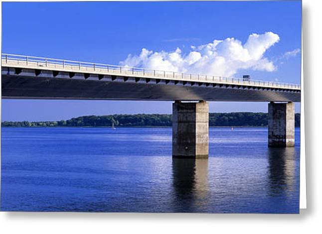 Farobridge, Denmark Greeting Card by Panoramic Images