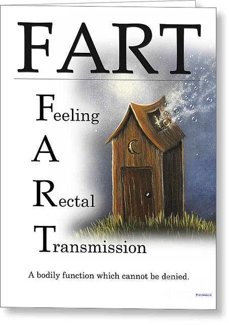 Fart Buseyism By Gary Busey Greeting Card by Buseyisms Inc Gary Busey