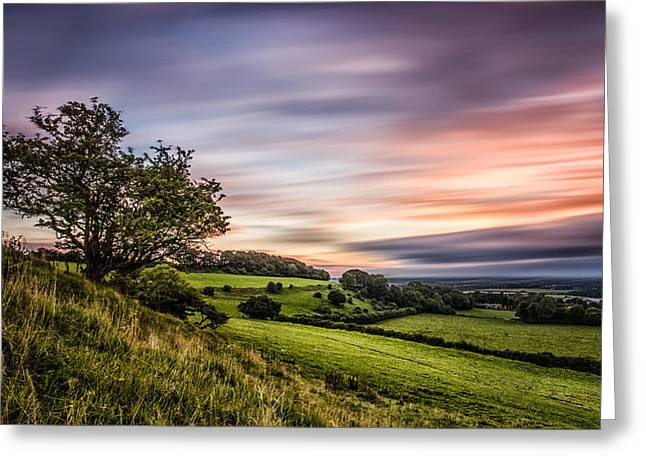 Rural Landscapes Greeting Cards - Farthing Common Greeting Card by Ian Hufton