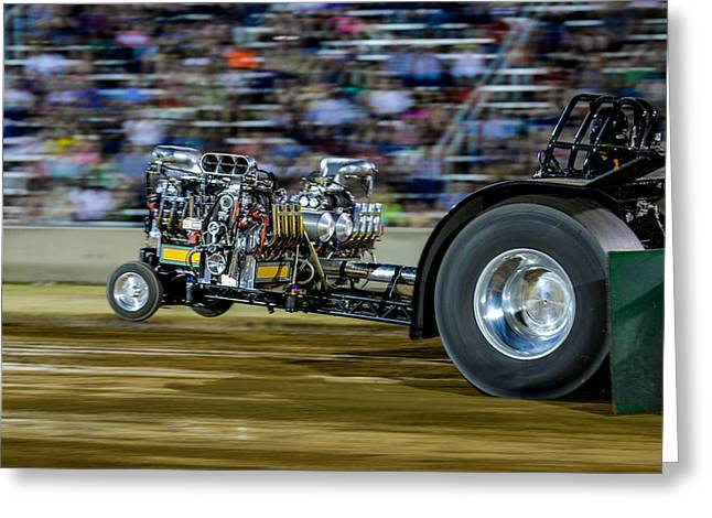 Multi-engine Greeting Cards - Fast and Mean Greeting Card by David Jeffries