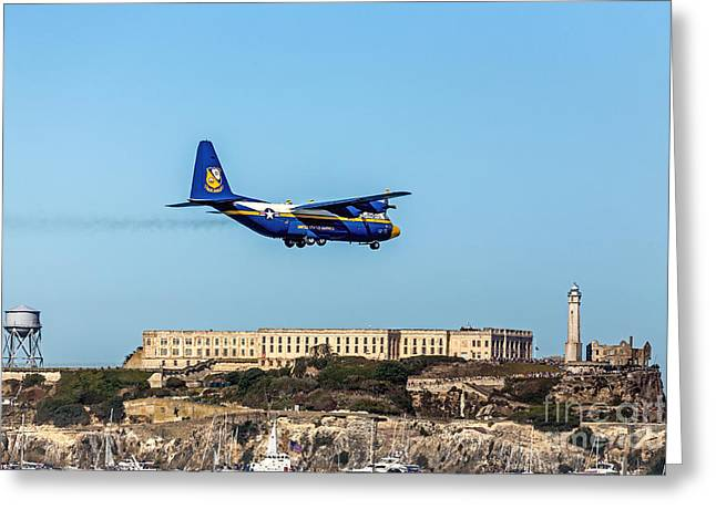Alcatraz Greeting Cards - Fat Alberrt Greeting Card by Kate Brown