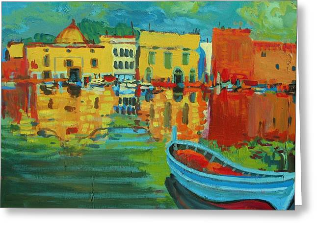 Derain Greeting Cards - Fauve Port Greeting Card by Brian Simons