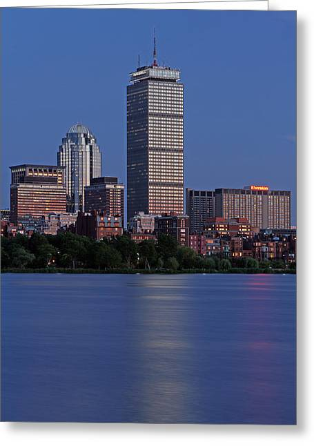 Huntington Hotel Greeting Cards - Favorite Bostonian Greeting Card by Juergen Roth