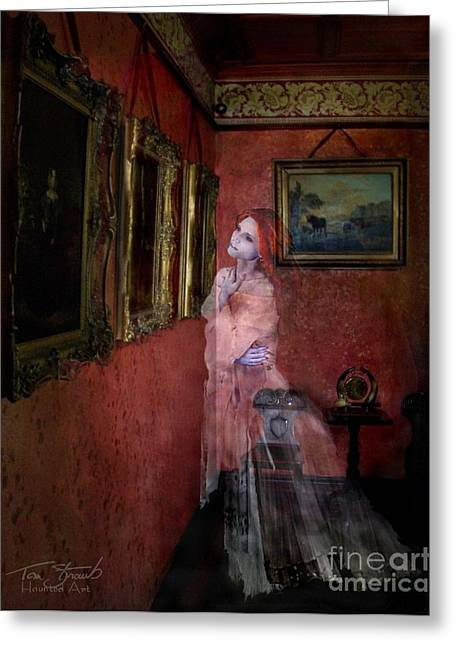 Paranormal Digital Greeting Cards - Favorite Painting Greeting Card by Tom Straub