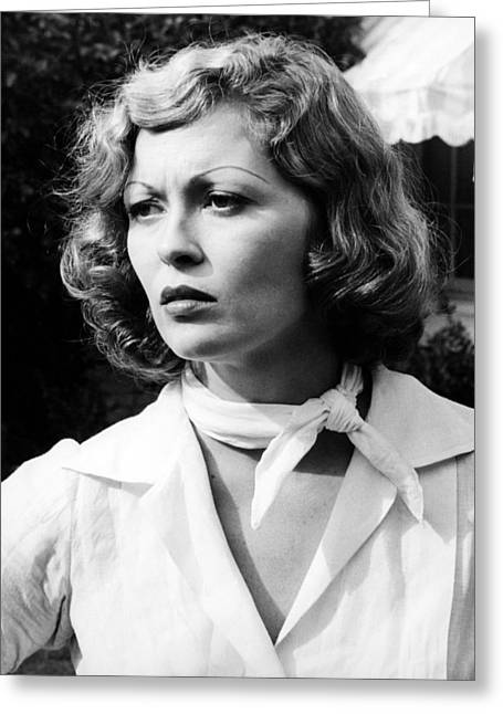 Dunaway Greeting Cards - Faye Dunaway in Chinatown  Greeting Card by Silver Screen