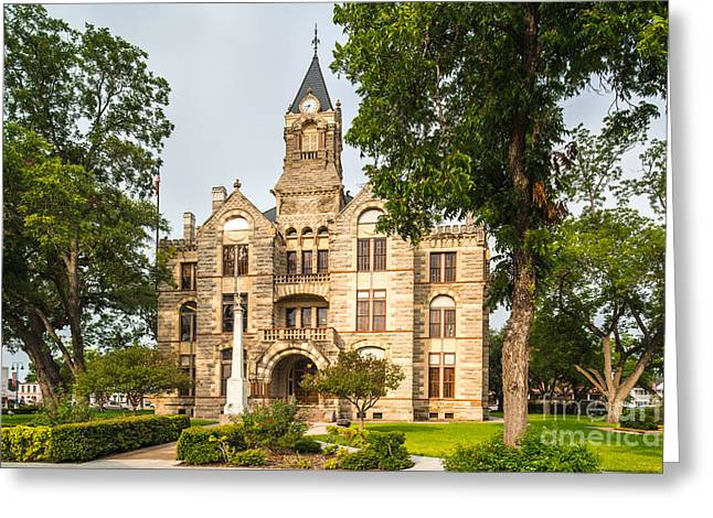 Fayette County Greeting Cards - Fayette County Courthouse - La Grange Texas Greeting Card by Silvio Ligutti