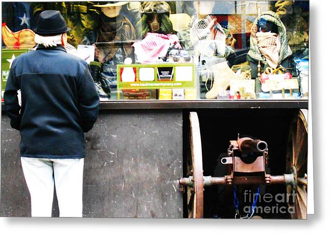 Jihad Photographs Greeting Cards - Fear Sells Greeting Card by Kevin J Cooper Artwork