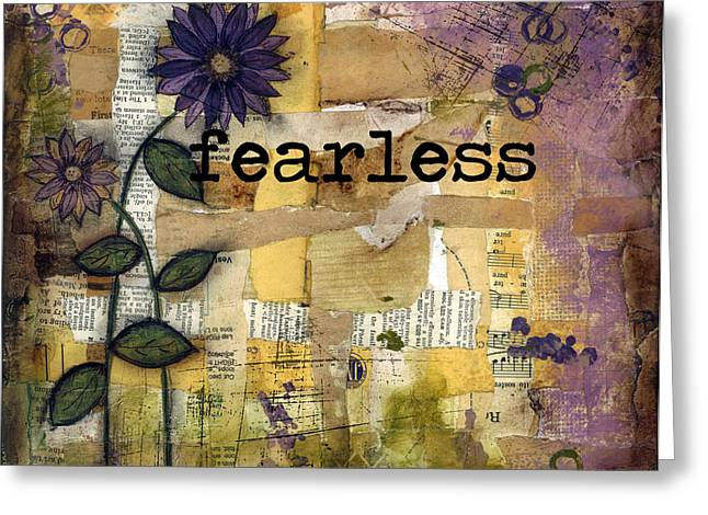 Fearless Greeting Card by Shawn Petite