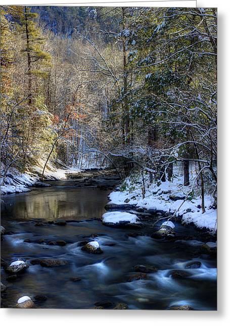 Smoky Greeting Cards - February Charm Greeting Card by Michael Eingle