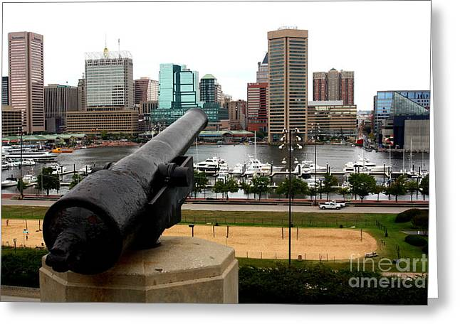 Civil War Site Greeting Cards - Federal Hill Cannon Greeting Card by Patti Whitten
