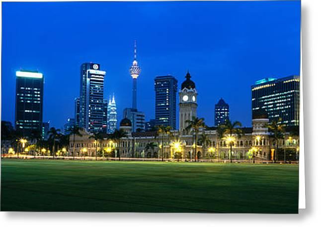 Southeast Asia Greeting Cards - Federal Secretariat Kuala Lumpur Greeting Card by Panoramic Images