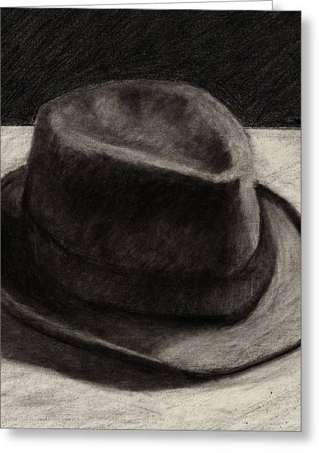 Fedora Greeting Cards - Fedora Greeting Card by RX Bertoldi