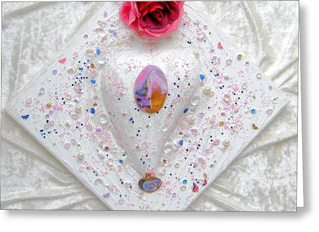 Bright Reliefs Greeting Cards - Feel embraced Greeting Card by Heidi Sieber