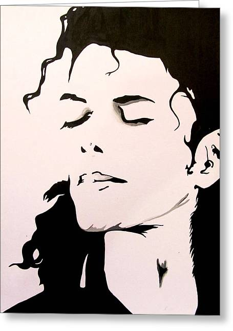 Mj Greeting Cards - Feel it Greeting Card by Gopal Maheshwari