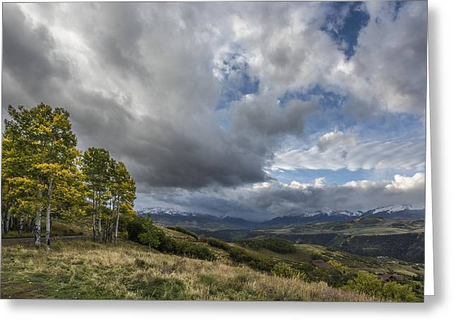 Feel The Clouds Greeting Card by Jon Glaser