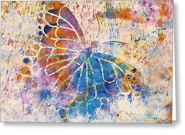 Fineartamerica Mixed Media Greeting Cards - Feeling Grateful Greeting Card by Noopur  Agarwal