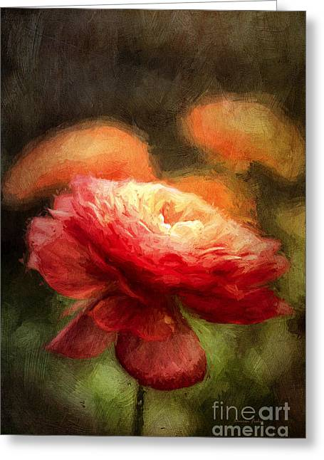 Florescence Greeting Cards - Feeling Van Gogh Greeting Card by Darren Fisher